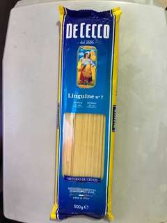 De Cecco Linguine no 7, original price around $30