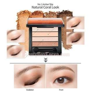 Clio Pro Eye Palette Eyeshadow Palette - 01 Amber Slip