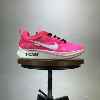 OFF-WHITE Nike ZoomFly SP OW限量 馬拉松聯名