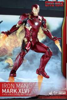 Iron Man mark 46 hottoys ironman irom man sideshow apple Samsung civil war hottoys captain America