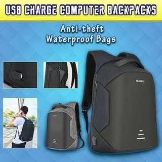 Anti theft waterproof bag