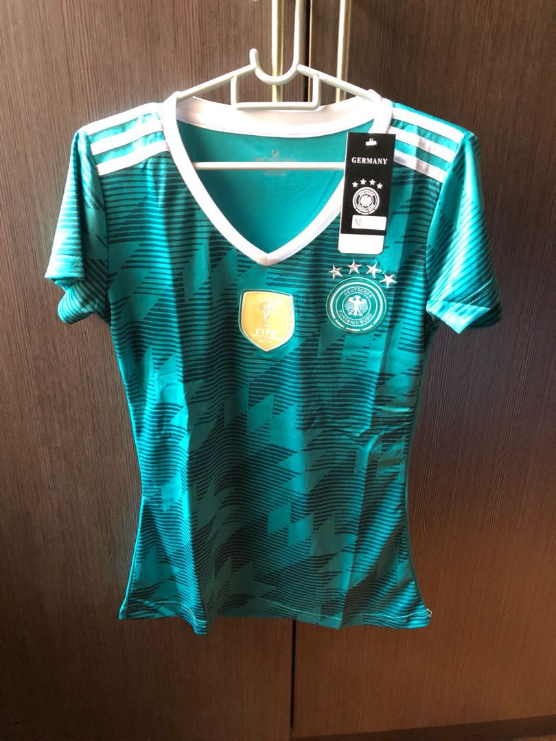 a8bebc779c4 2018 FIFA World Cup Germany Away Jersey (Ladies), Sports, Sports ...