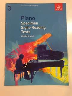 Grade 3 Piano specimen Sight-reading Tests