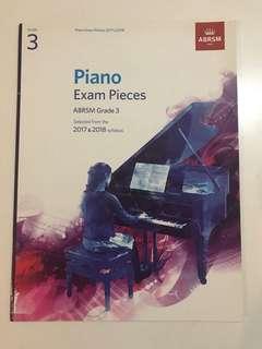 Grade 3 piano Exam pieces