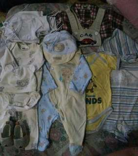 My sons prelove but well loved item for 0-3 months old