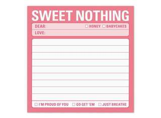 Knock knock Sweet Nothing Sticky Notes / Notepad