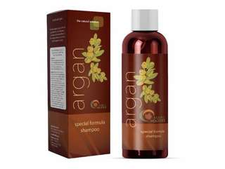 [IN-STOCK] Maple Holistics Argan Oil Shampoo, Sulfate Free, 8 oz. - With Argan, Jojoba, Avocado, Almond, Peach Kernel, Camellia Seed, and Keratin - 100% Safe for Color Treated Hair - For Men, Women, and Teens - All Hair Types - Most Beneficial Haircare
