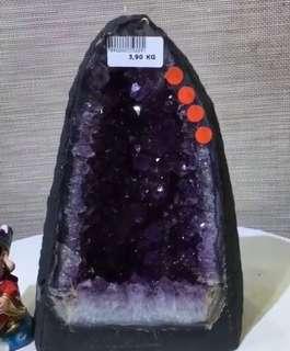 🈹烏拉圭紫晶洞🌟連木座