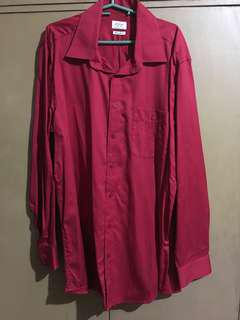 Arrow Red Longsleeves Shirt
