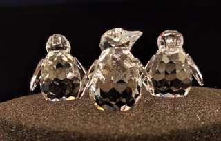Swarovski 水晶企鵝仔擺設