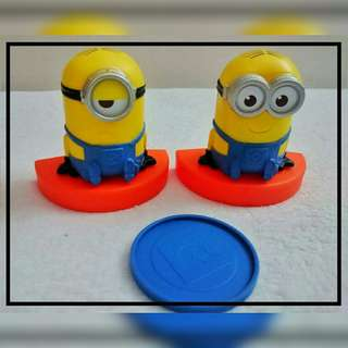Minions Toy Set from Japan