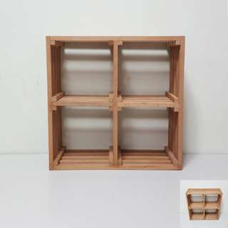 [For Rent] Wooden Crate Cupcake Stand DIYB002