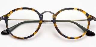 Repriced! Ray-Ban Round Fleck Tortoise eyeglasses