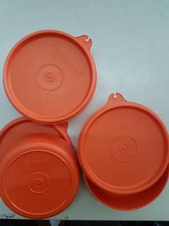 Tupperware Containers-160ml(3 units in set)