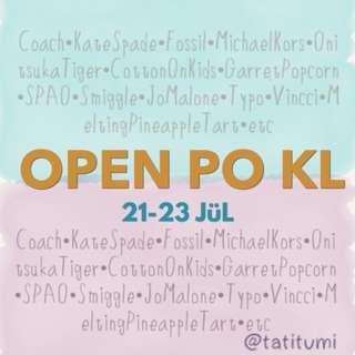 Open PO Kuala Lumpur