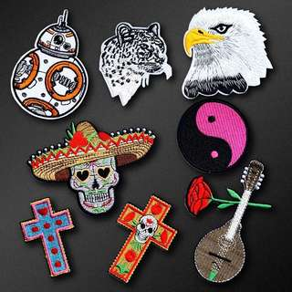 330 zoadic sign tumblr keychain po womens fashion accessories 283 skull cross tiger peace sign guitar rose tumblr iron on patch po voltagebd Image collections