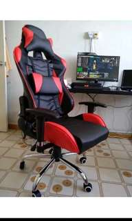 (Raya Sale!) Racer Seat Gaming Chair Multi Colour PS4 PC Xbox One Game Fifa 18 Furniture House Bedroom