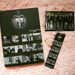 BTS NOW 2 + JK BOOKMARK