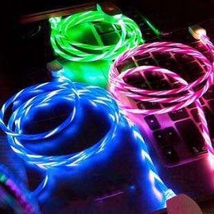 超型流光充電線 EL (Electroluminescentlight) Charging Cable