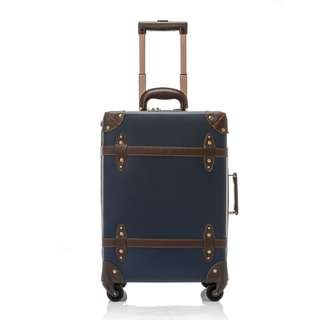 Vintage Suitcase ABS Wheel Luggage