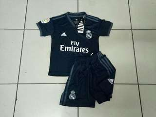 JERSEY BOLA REAL MADRID AWAY KIDS 2018/2019 GRADE ORI