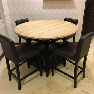 Dining Set Belmont Crate and Barrel set - Price reduced!