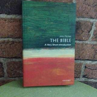 The Bible - A Very Short Introduction