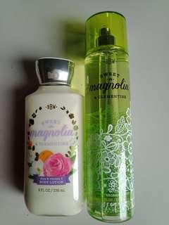Bath & Body Works Sweet Magnolia