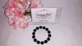 (NEW) - Shimmer Black Gemstone