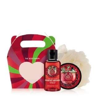 Bodyshop Frosted Berry Gift Set
