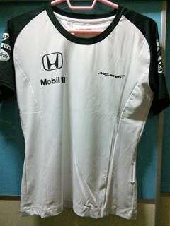 Mclaren Honda Offical Team T-shirt Female