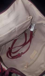 Lacoste Bag w Sling (Red)