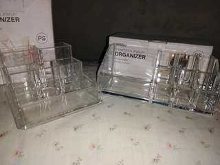 miniso cosmetics and jewelry organizer