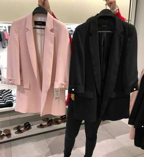 zara blazer new
