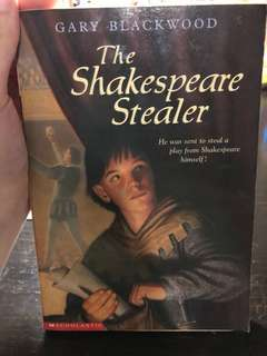 FREE BOOK!! Just pay shipping fee (The Shakespeare Stealer by Gary Blackwood)