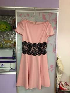 Valentino pink Dress size 38