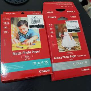 Canon Photo Paper - set of 2