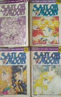 Komik Sailor Moon 9-16 + 18
