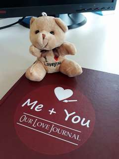 Me and You Love Journal for couple