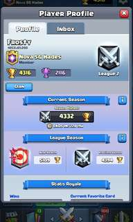 Clash Royale Max Level Account