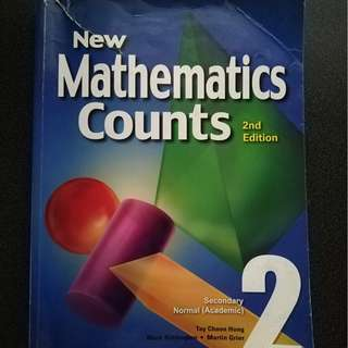 New Mathematics Counts Book 2(Marshall Cavendish)