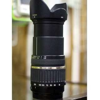 Tamron Auto Focus 18-200mm f/3.5-6.3 XR Di II LD Aspherical (IF) Macro Zoom Lens for canon mouth