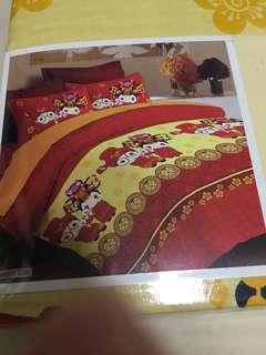 Wedding bedsheet queen size