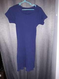 Dark blue dress