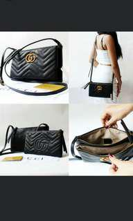 (NO INSTOCKS!) PO Gucci crossbody sling bag , waiting time 2 to 3 days after payment is made ,pm to order