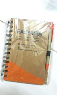 EasyAsia Notebook with Pen #July100