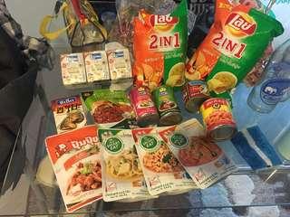 Thailand Pre-Order Food & Drink stuff
