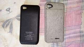 iPhone 尿袋套 叉電套  iPhone 2-in-1 battery case