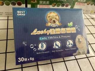 🚚 Lucky 全酵多醣體-《益生菌》改善寵物腸道免疫系統