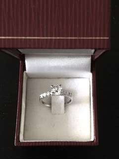 Classic 18K Plated Solitaire Ring